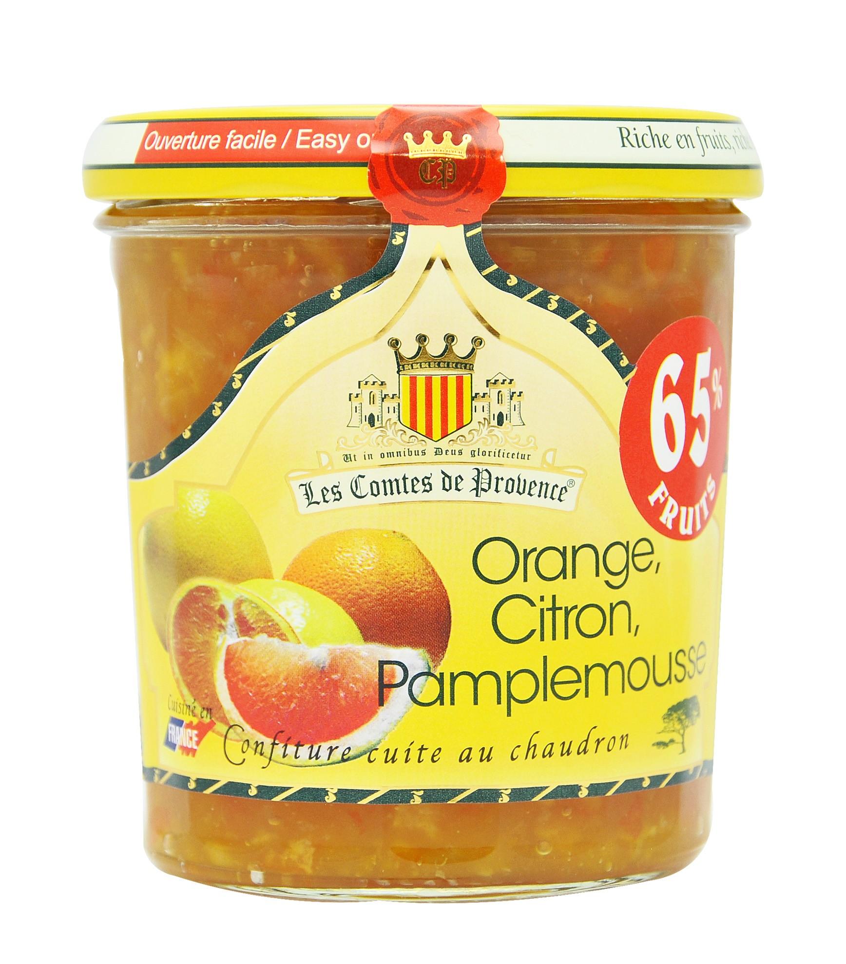 Gem de portocale, lamai si grapefruit